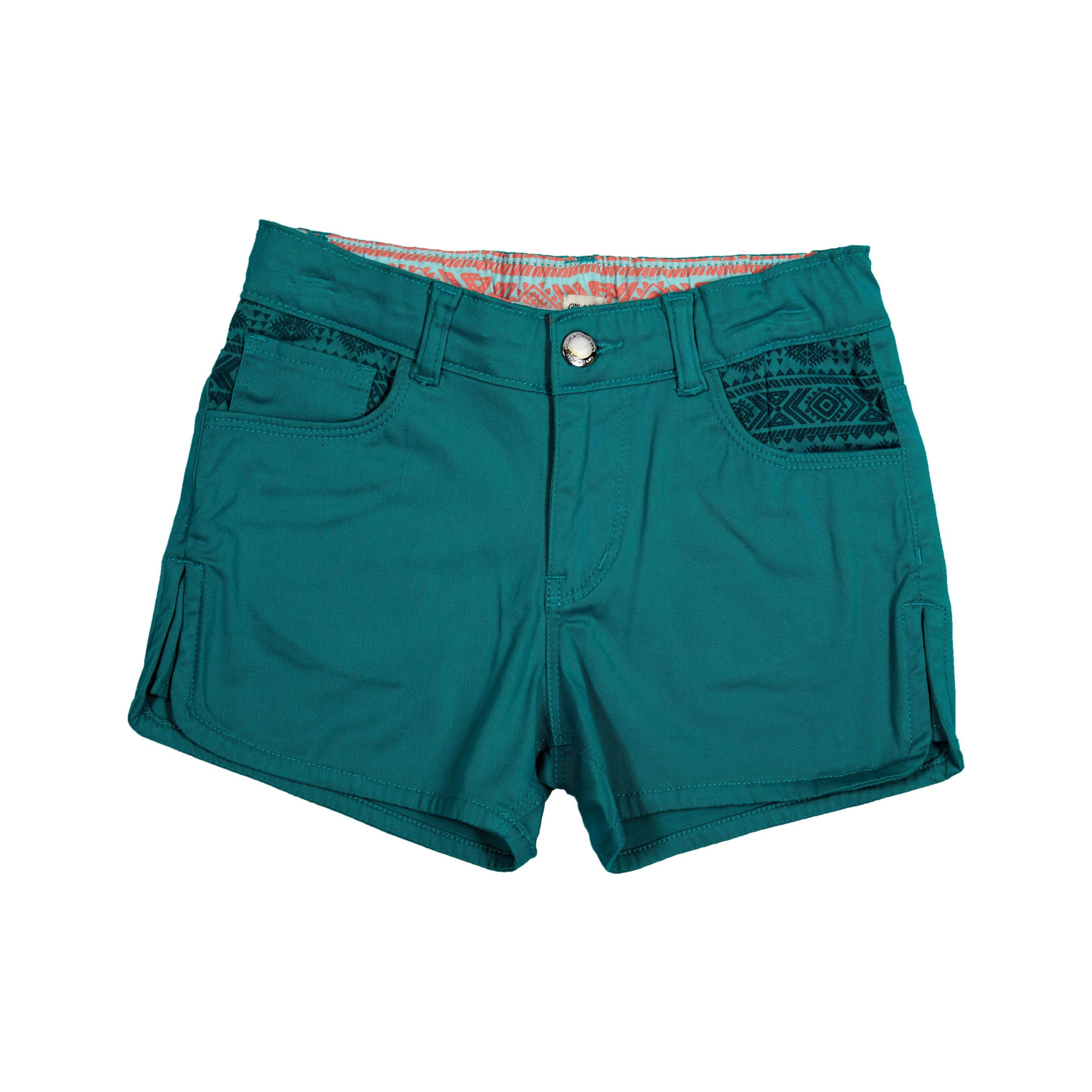 Gini & Jony Blue  Hot Shorts