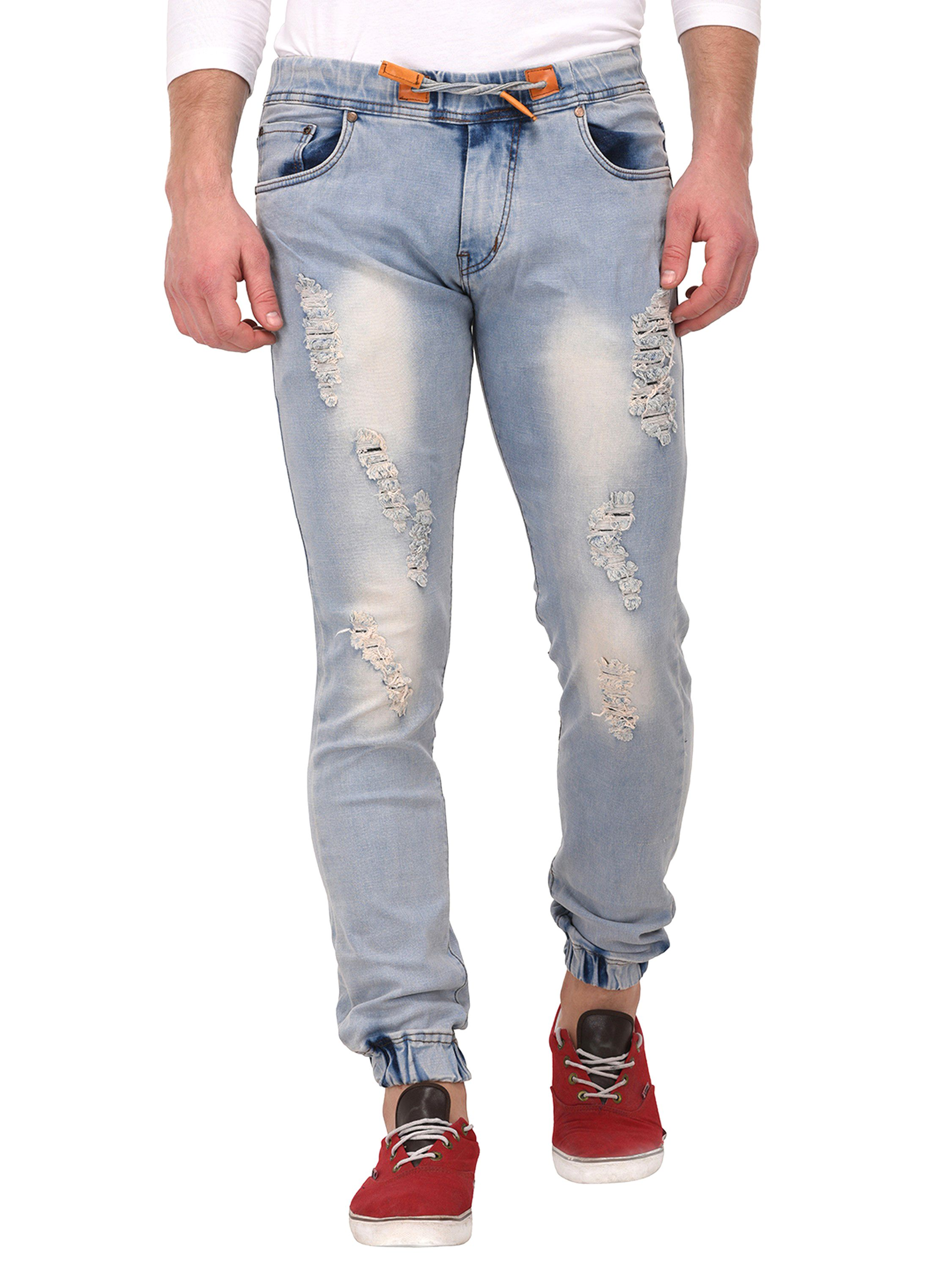 VOXATI Grey Slim Jeans