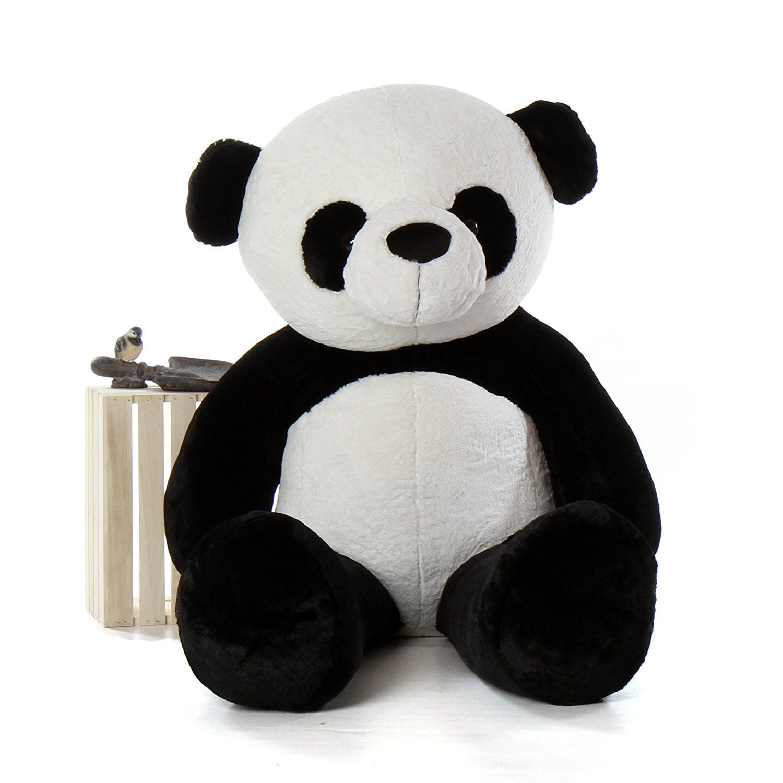01efb7b68e6 AVS 3 Feet Stuffed Spongy Huggable Cute Panda Teddy Bear (Black ...