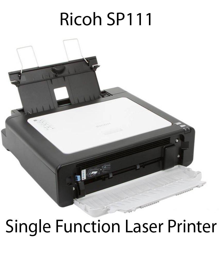 Ricoh Sp111 Single Function B W Laserjet Printer