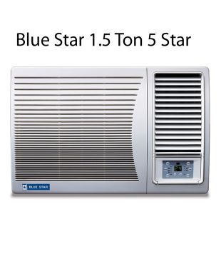 a619acb00767f Blue Star 1.5 Ton 5 Star 5W18LC   5W18GA   5W18LA Window Air Conditioner
