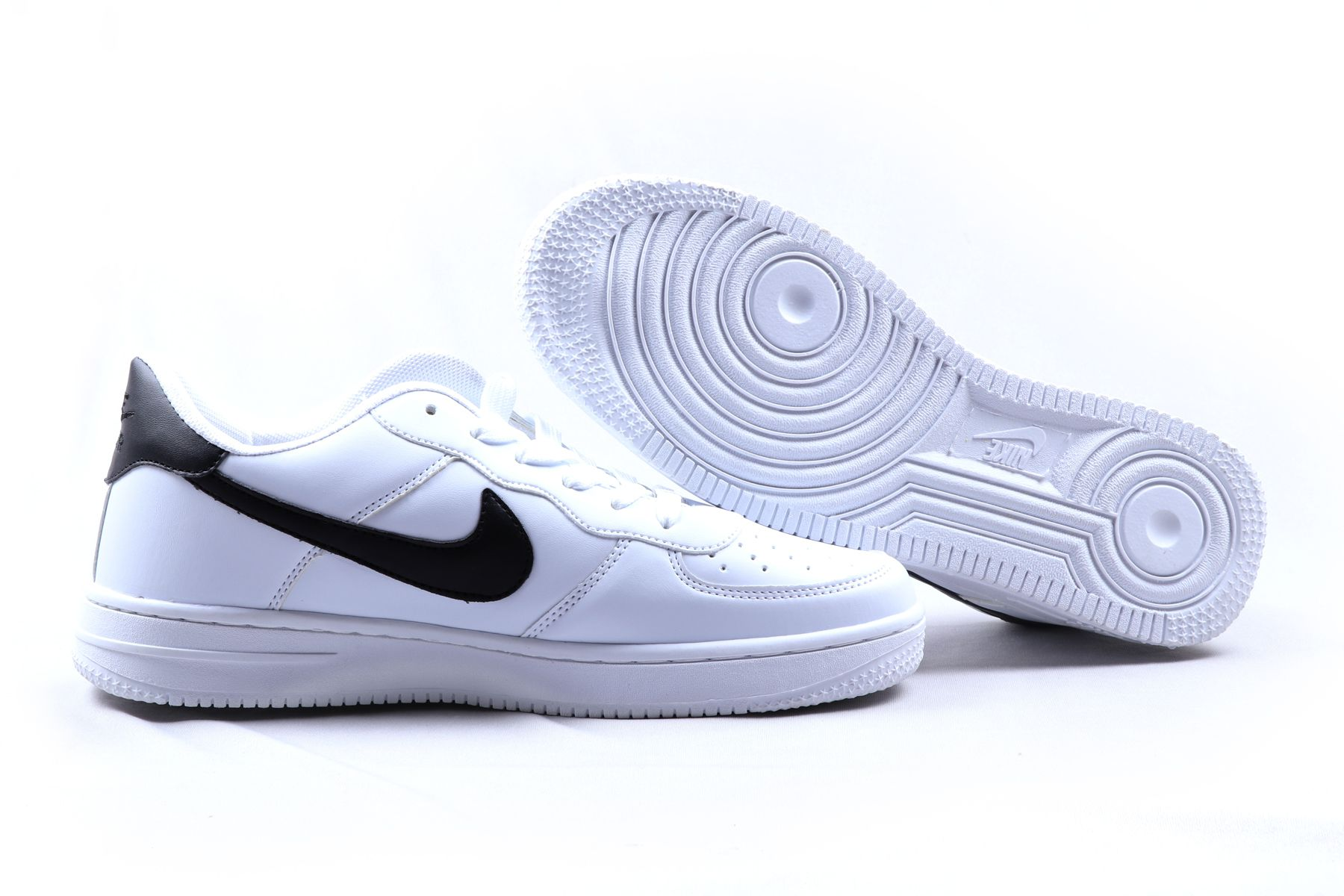 huge selection of ada3b 3737f ... Nike Air Force 1 LOW ID Sneakers White Casual Shoes ...