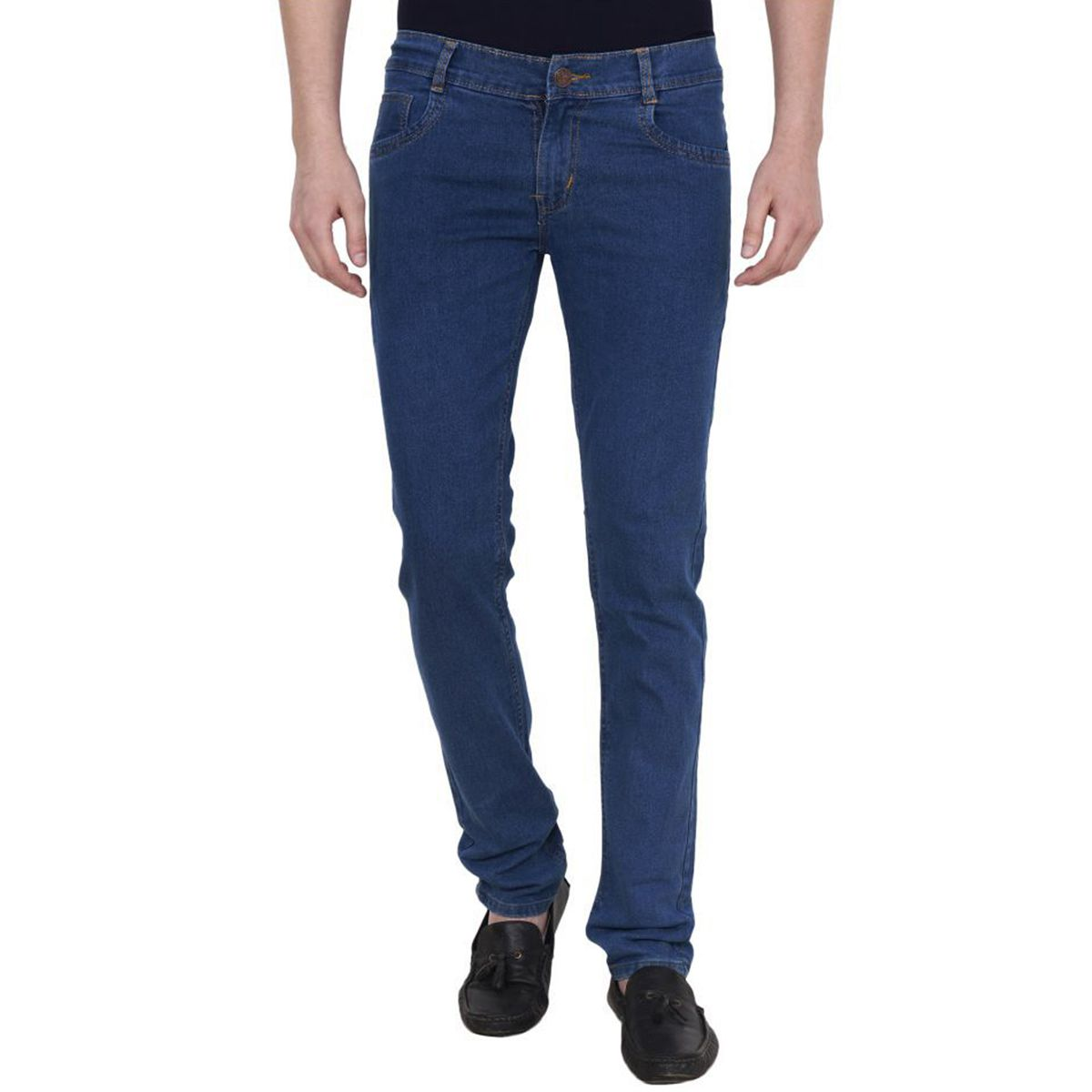 Masterly weft Blue Slim Jeans