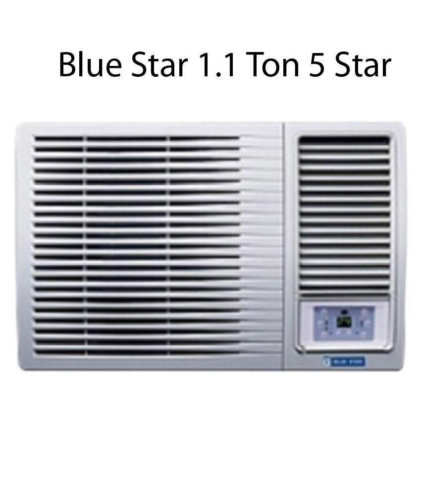Blue Star 5W13GA 1.1 Ton 5 Star Window AC Brand Warranty Copper AC
