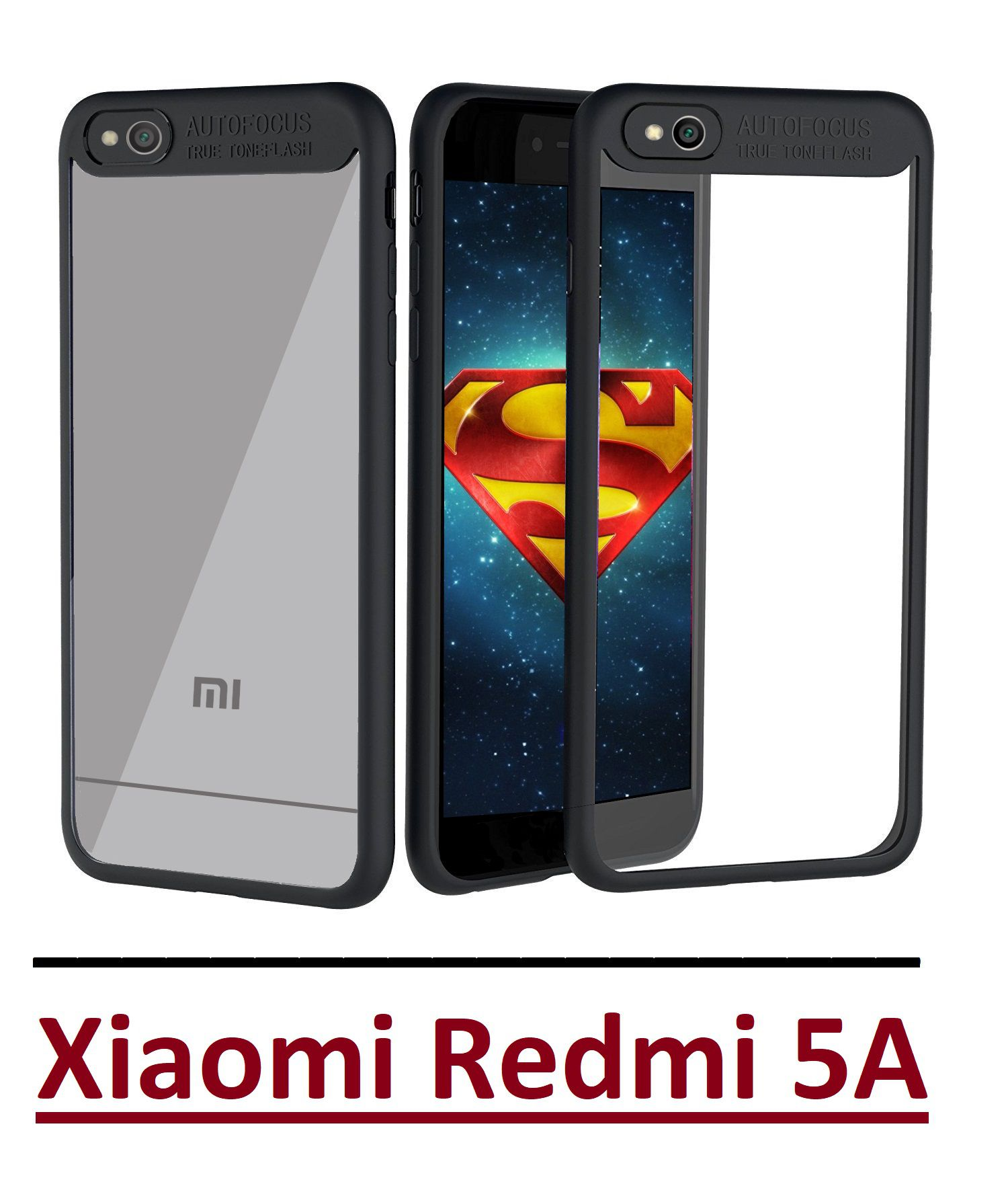 Xiaomi Redmi 5A Bumper Cases Ace HD Black