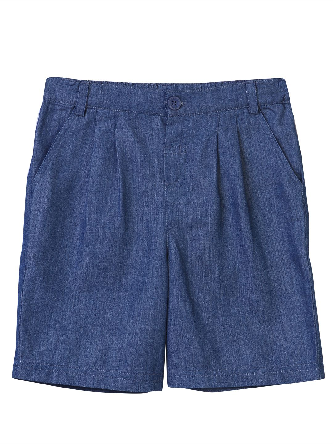 Chambray Culotte Blue 4Y