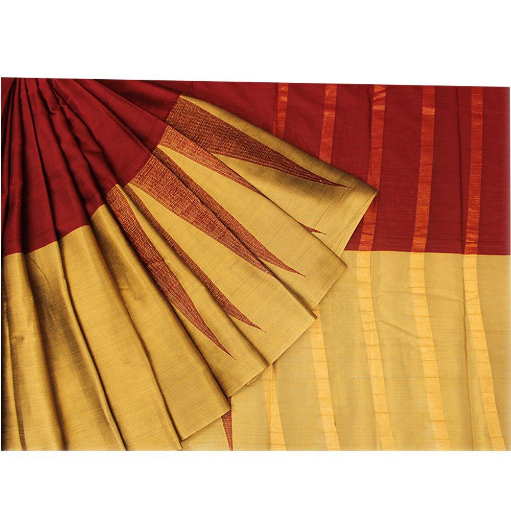 Abaranji Multicoloured Gadwal Saree