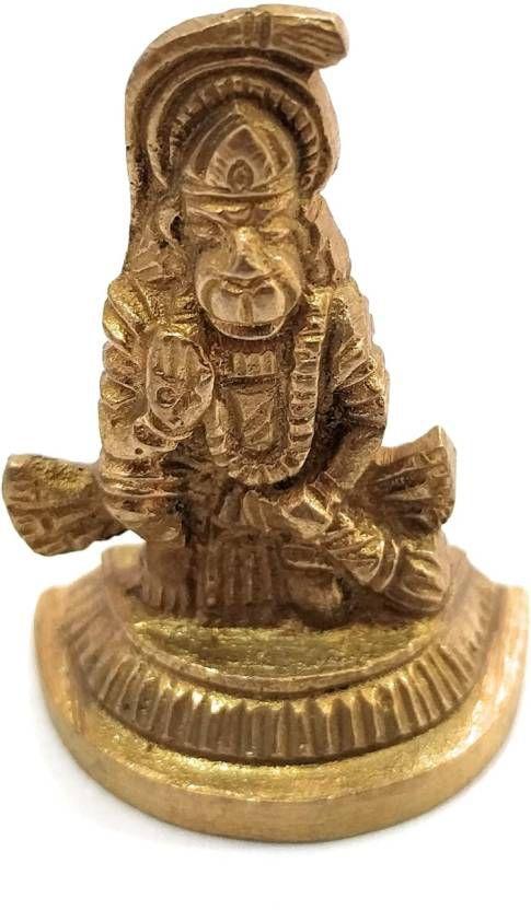 athizay Hanuman Brass Idol