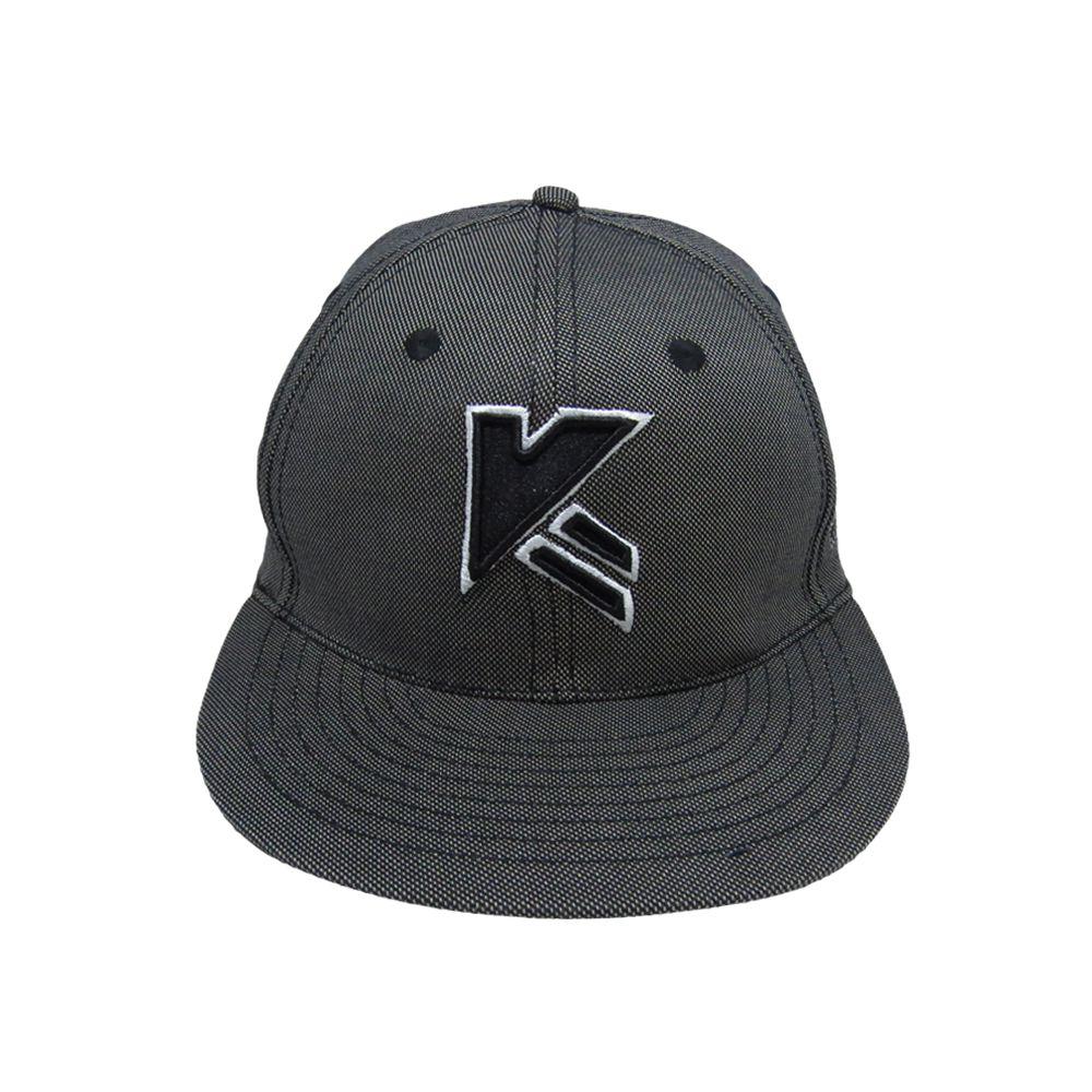 Kapture Headwear Gray Cotton Caps