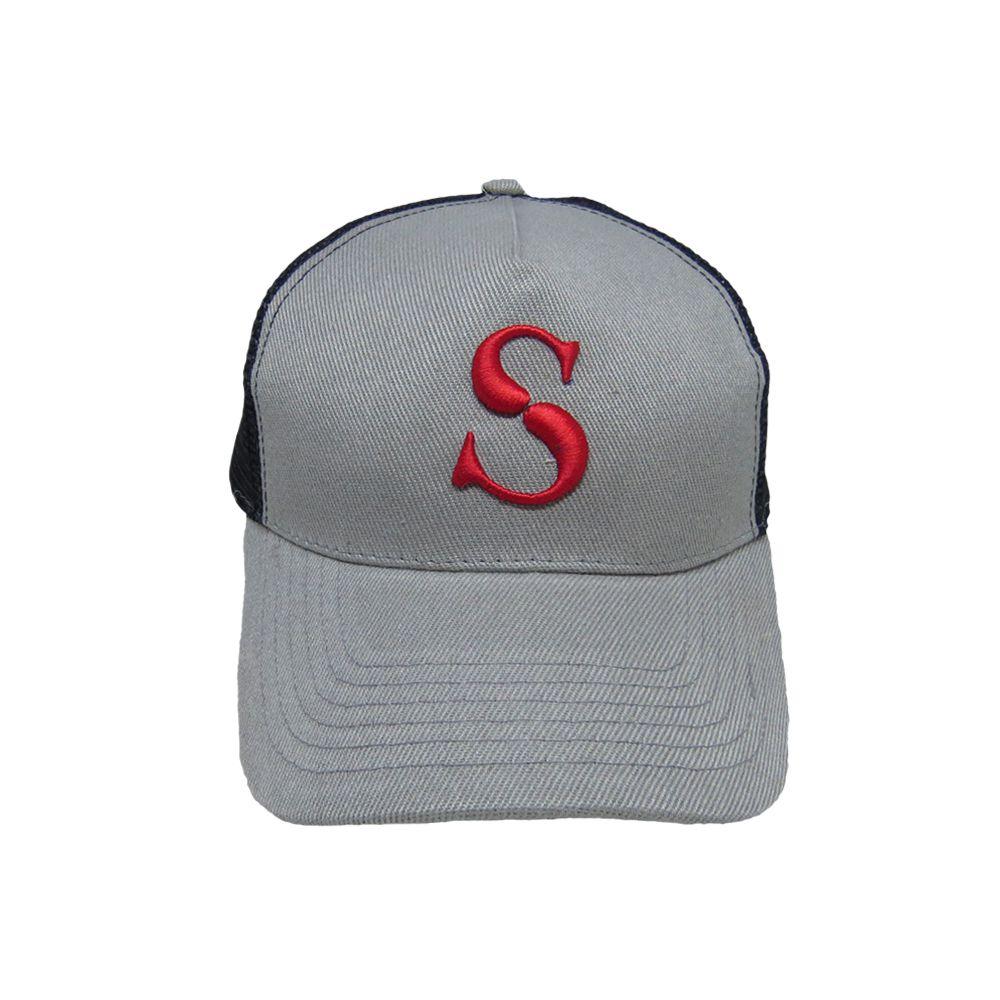 Kapture Headwear Gray Polyester Caps