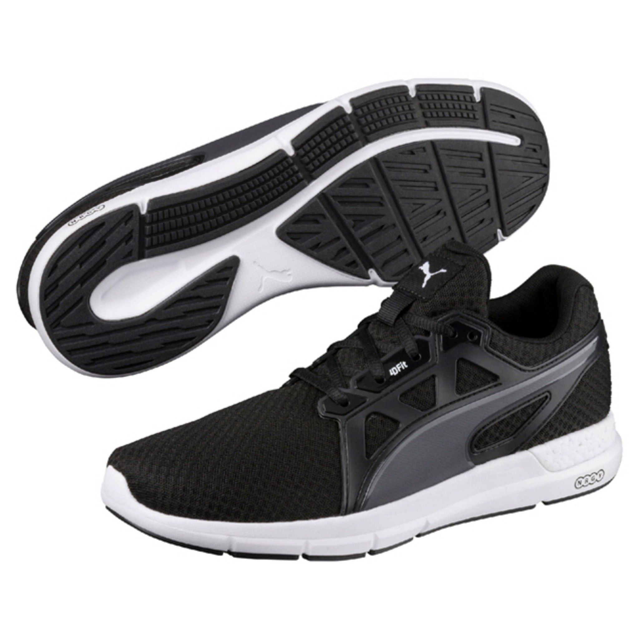 Puma NRGY Dynamo Black Running Shoes Puma NRGY Dynamo Black Running Shoes  ... 6d640c5a3