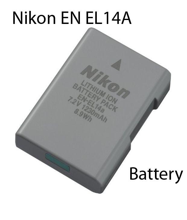Nikon EN EL 14 A Rechargeable Li ion battery for Nikon Digital Cameras