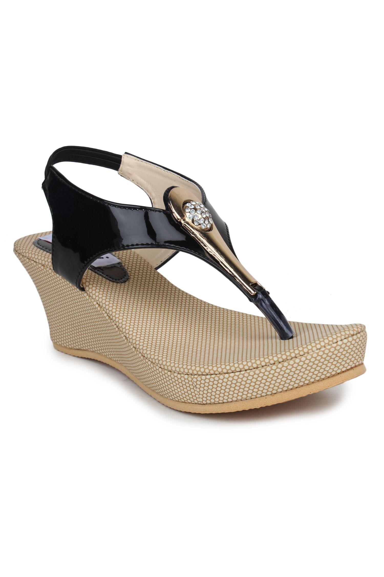 DIGNI White Wedges Heels