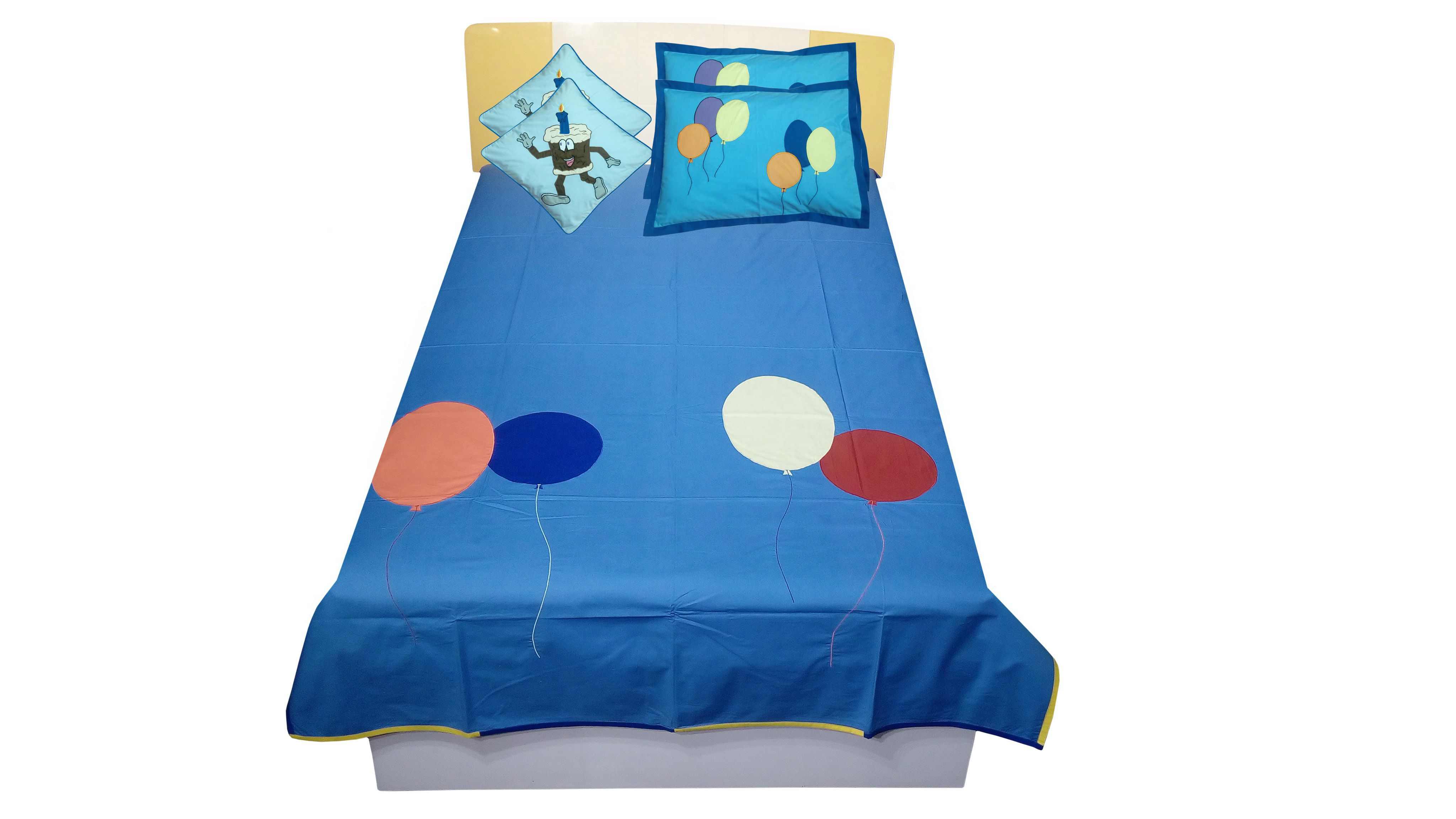 Hugs'n'Rugs Cotton Single Bedsheet