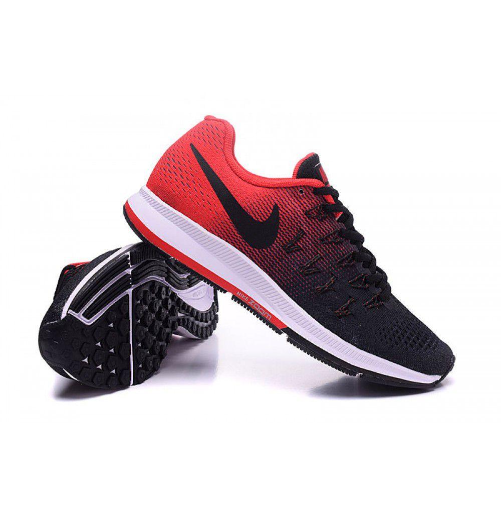 ... Nike Air Sa Pegasus33 Black Running Shoes ...