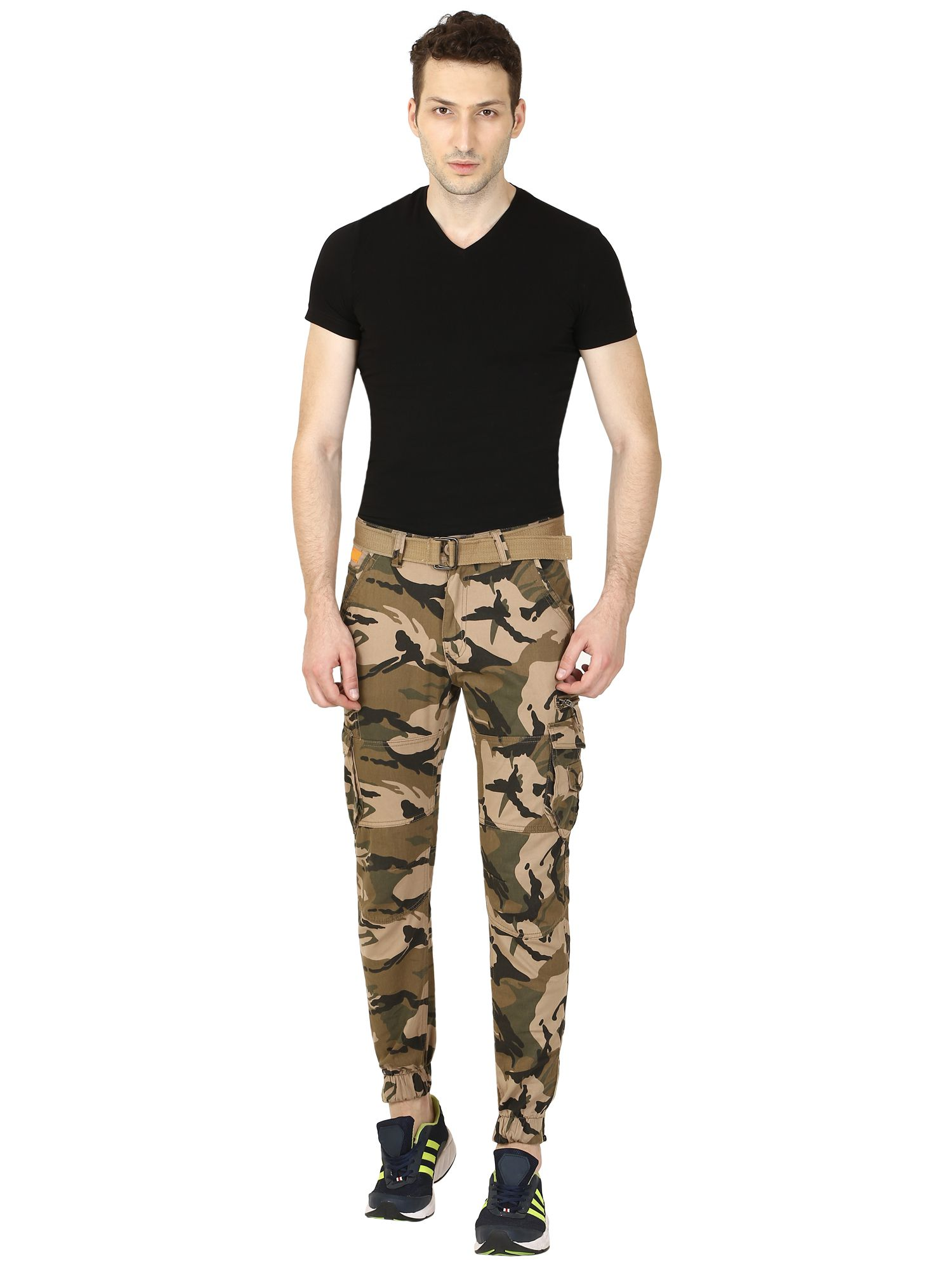 Verticals ARMY PRINT CARGO FOR MEN(joggers style) …