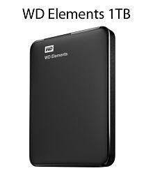 WD Elements 1TB USB 3.0 WDBUZG0010BBK Black