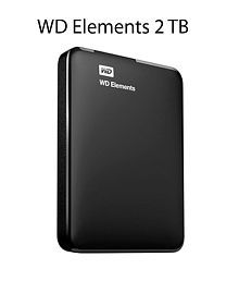 WD Elements 2 TB External Hard Drive