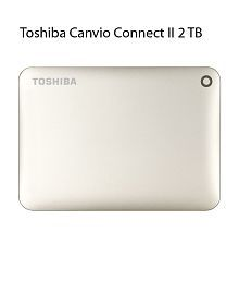 Toshiba Canvio Connect II 2 TB USB 3.0