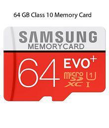 Samsung EVO Plus 64 GB Class 10 Memory Card