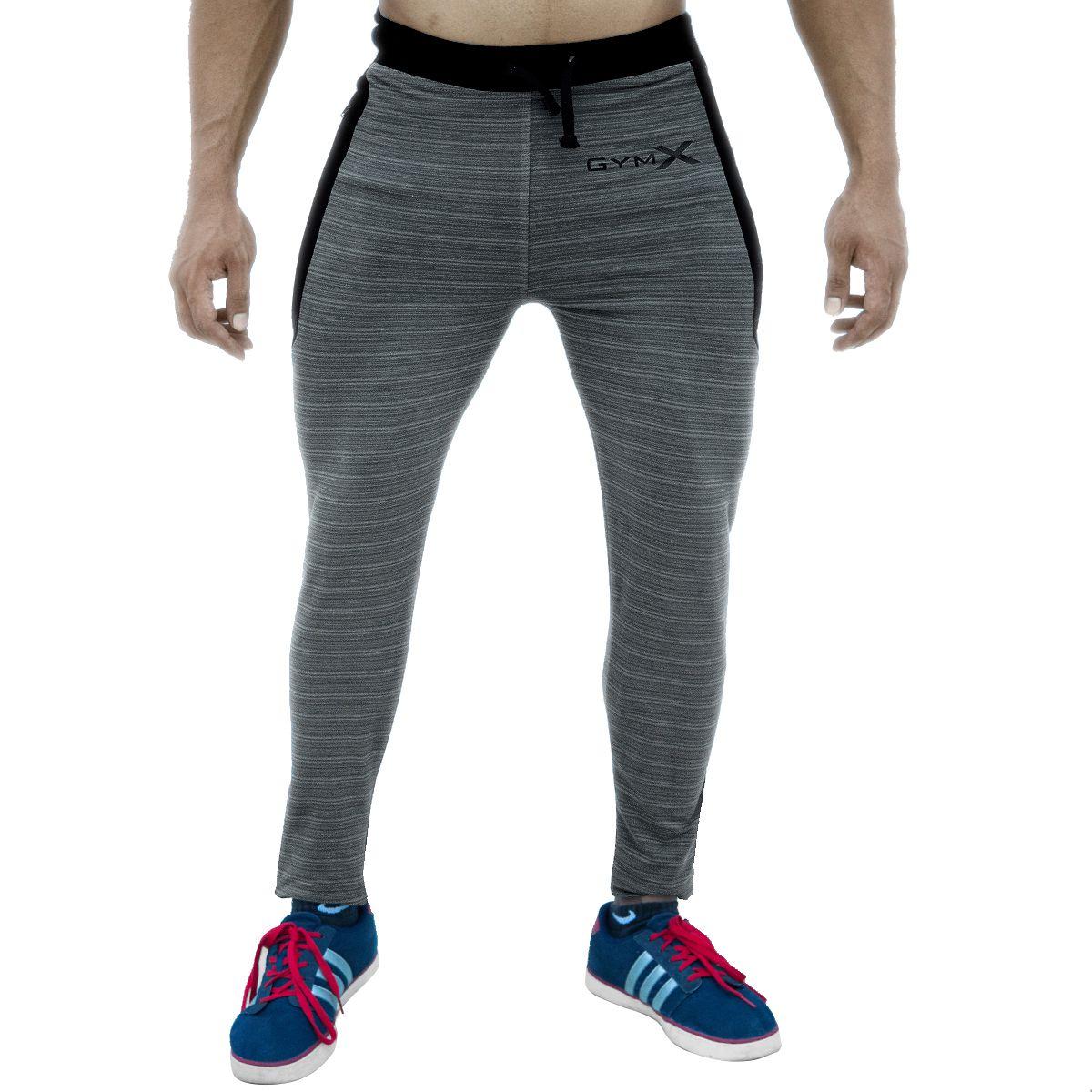 GymX Mens Legacy Sweatpants- Strike Shark Grey