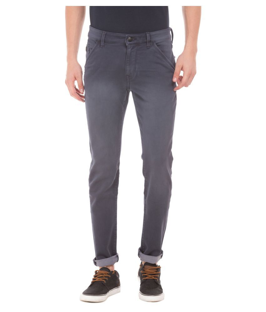 U.S. Polo Assn. Grey Slim Jeans