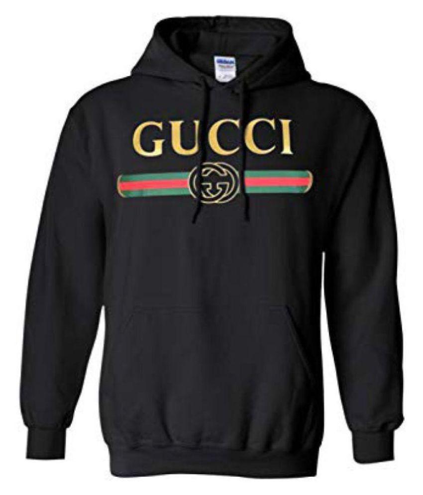 266b51c1481 Gucci Black Sweatshirt - Buy Gucci Black Sweatshirt Online at Low Price in  India - Snapdeal