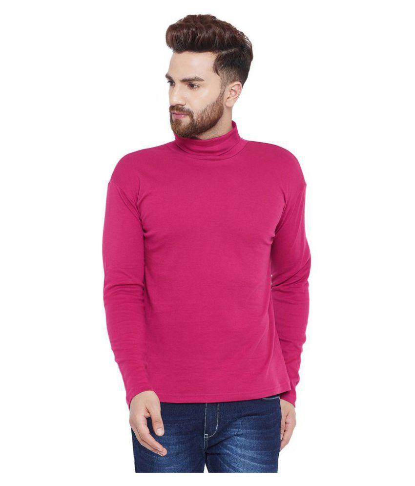 Hypernation Pink Full Sleeve T-Shirt