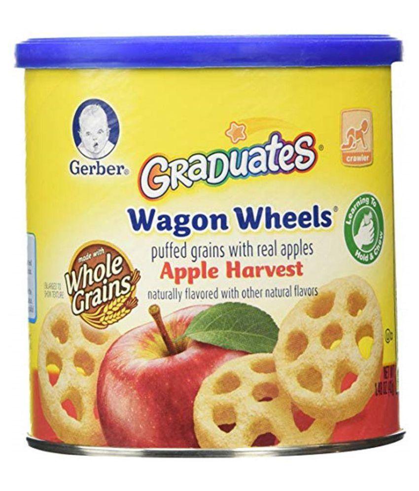 Gerber Apple Harvest Snack Foods for 6 Months + ( 42 gm )