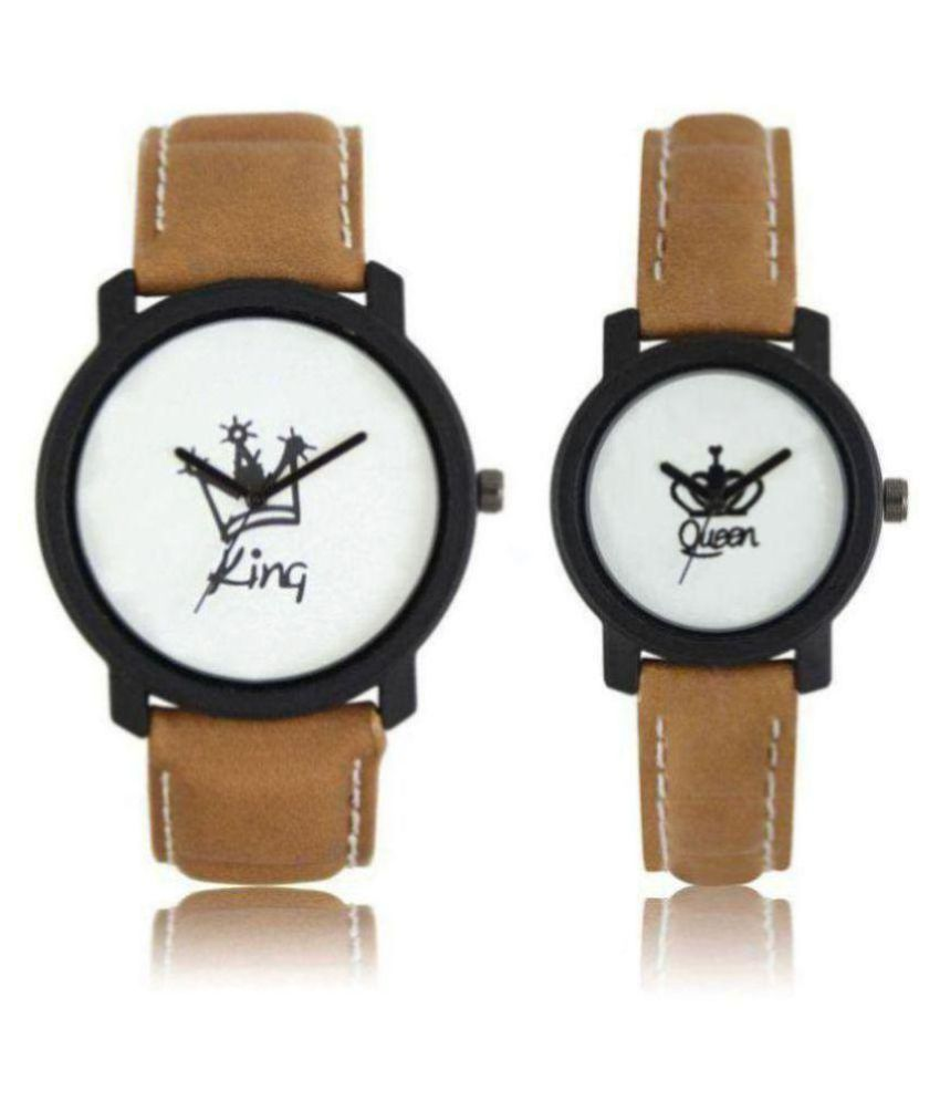HERITA ENTERPRISES new stylish analog king and queen couple watch