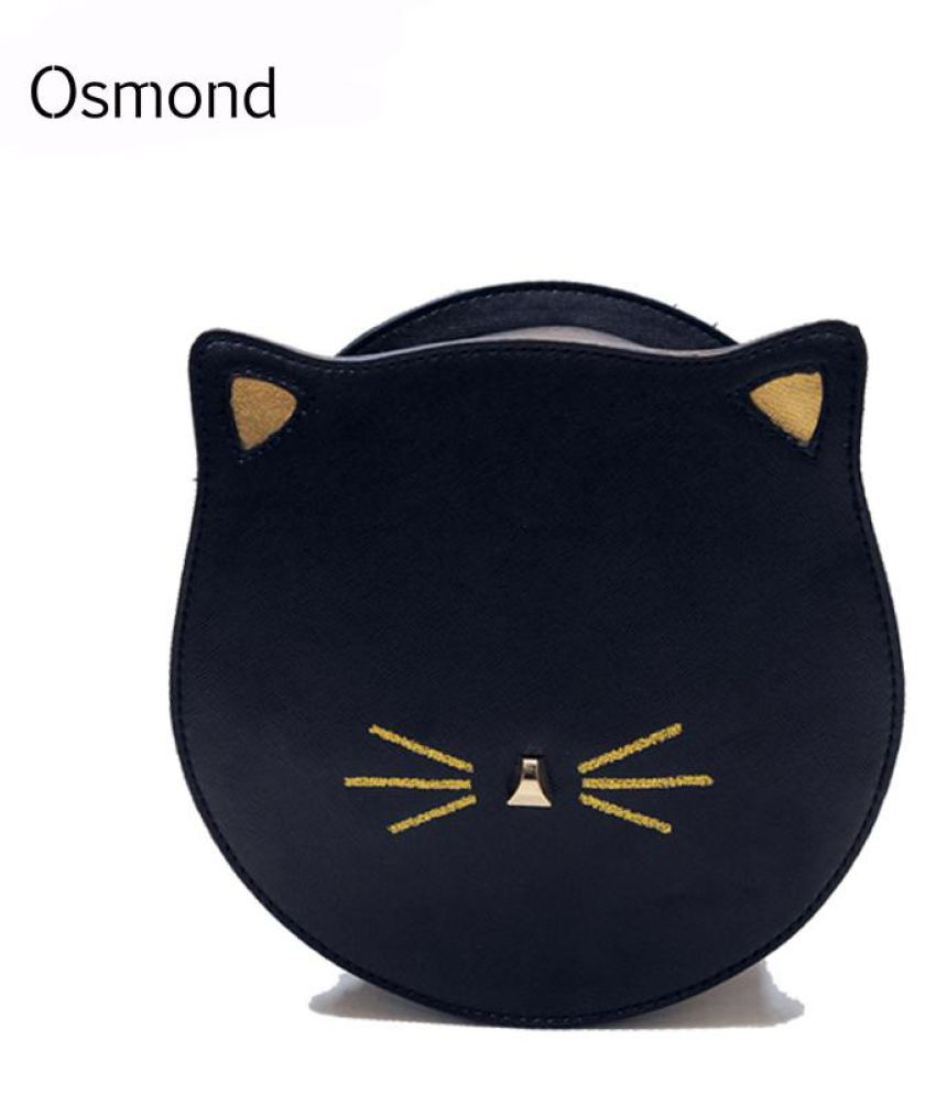 fc3365bed5 Osmond 2017 New Arrival Designer Messenger Bag Women Crossbody Leather  Shoulder Bag Cute Cat Face Korean ...