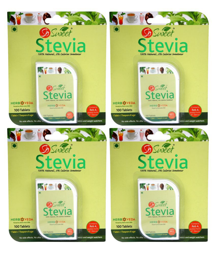 So Sweet stevia tablet Sugar Substitute Tablets 400 no s