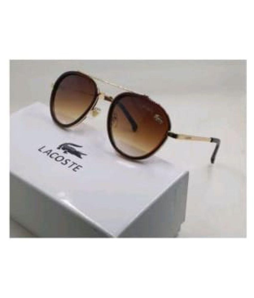 ad73f12c580 LACOSTE SUNGLSS Brown Aviator Sunglasses ( 174 ) - Buy LACOSTE SUNGLSS  Brown Aviator Sunglasses ( 174 ) Online at Low Price - Snapdeal