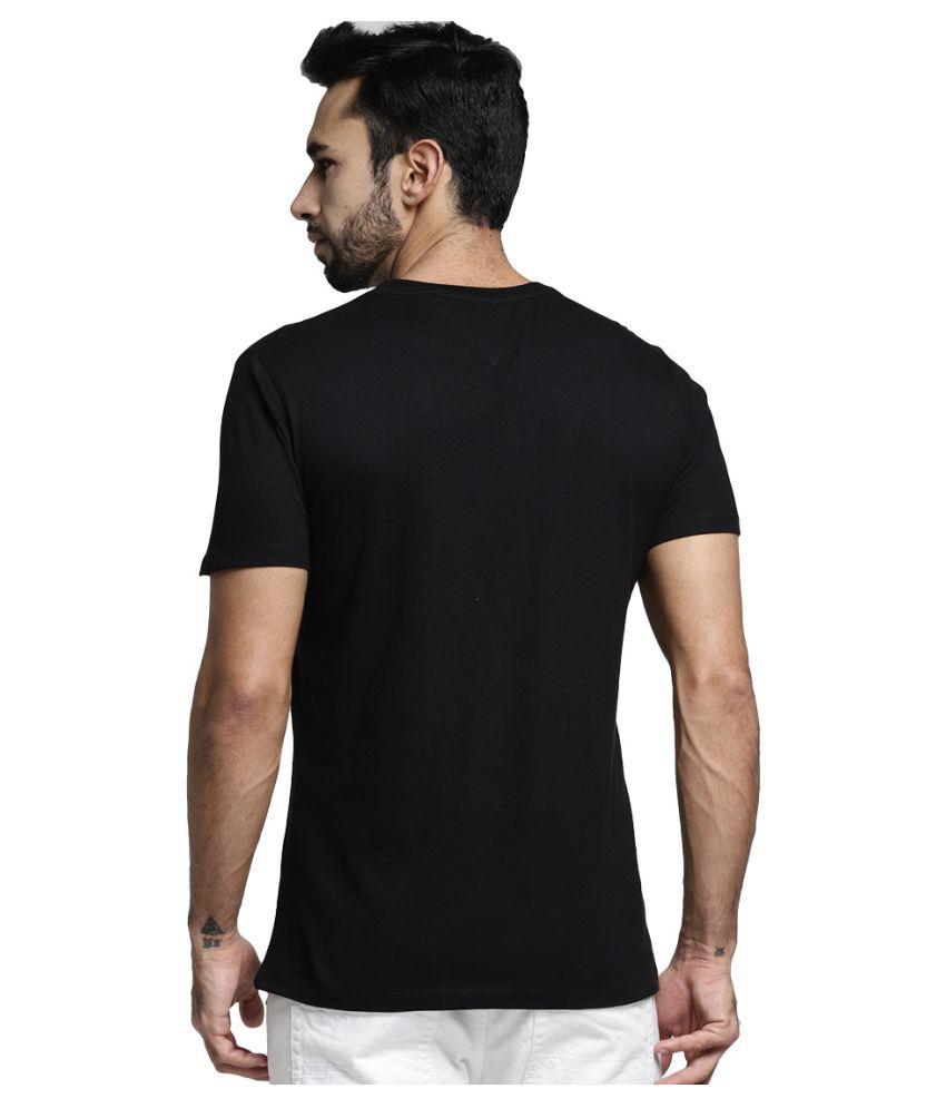 062f1bb5ee6 MINIMALIST CLOTHING Black Half Sleeve T-Shirt Pack of 1 - Buy ...