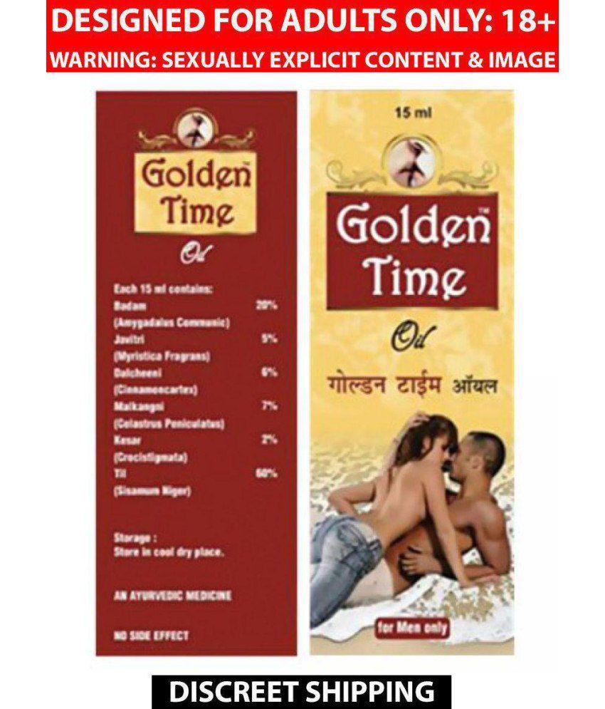 G & G MEN GOLDEN TIME OIL Oil 15 ml: Buy G & G MEN GOLDEN