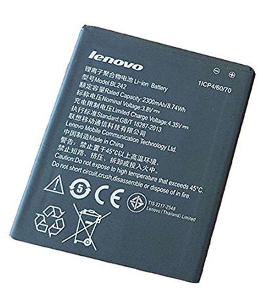 Lenovo BL242 2300 mAh Battery by Lenova A6000