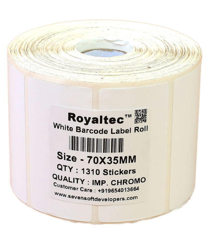 Royaltec Barcode Label 70 x 35 MM