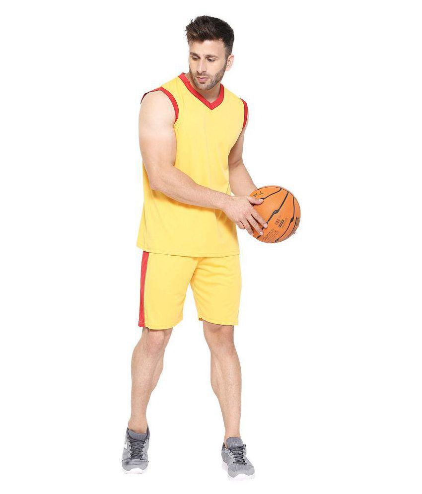 CHKOKKO Polyester Basketball Cycling Sports Badminton Volleyball Tennis Sports Suits for Men