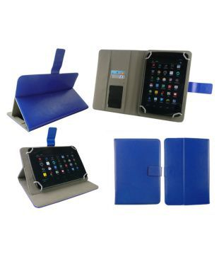 Fusion5 108 Flip Cover By Emartbuy Blue - Cases & Covers Online at