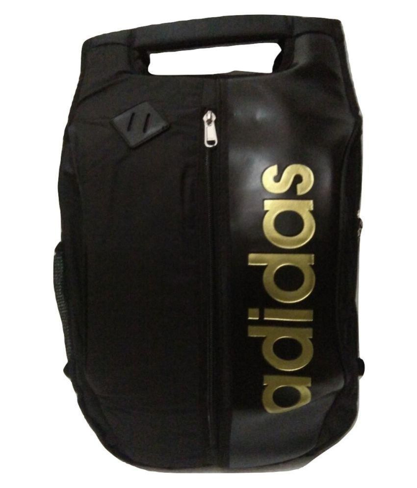 Adidas Black P.U. College Bag