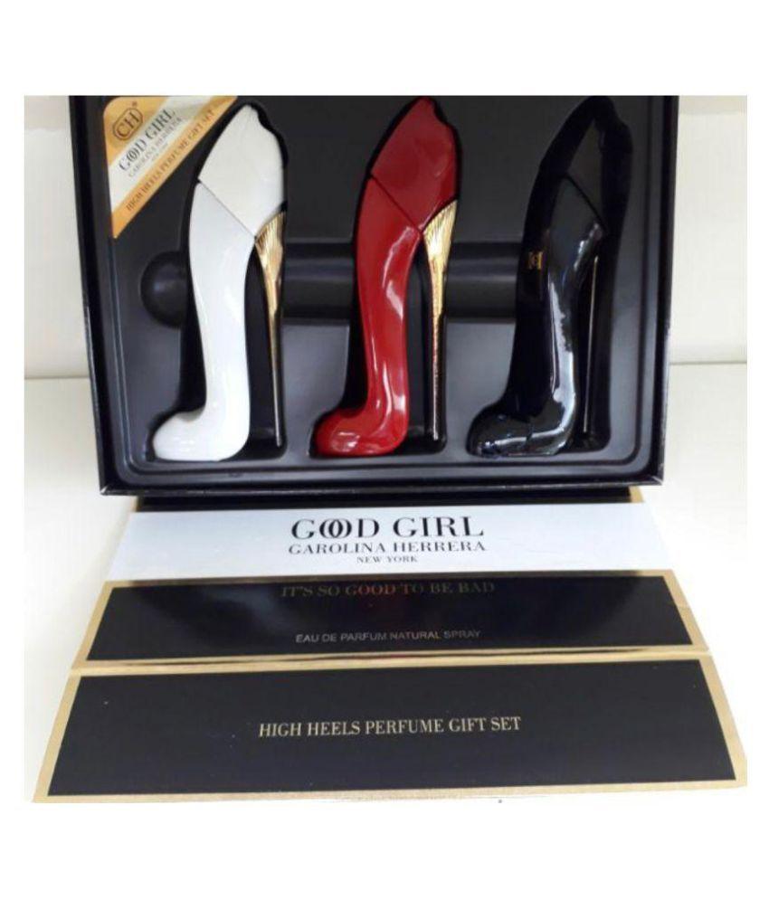 Carolina Perfume Good Girl Edp 3 Pc Gift Set For Women Buy Online