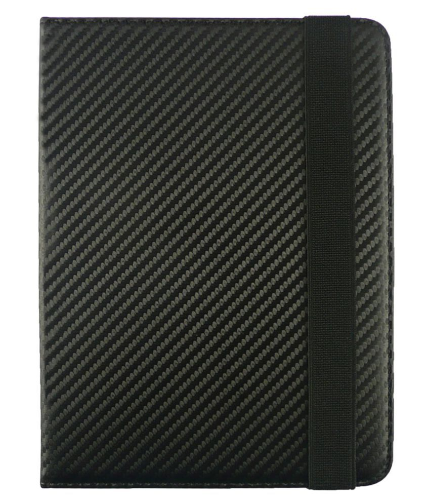HP Slate 6 Voice Flip Cover By Emartbuy Black