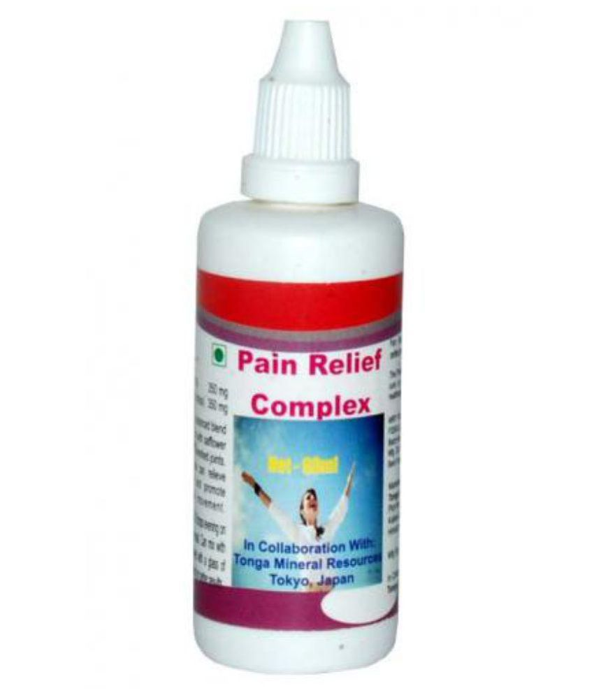 Tonga Herbs Pain Relief Complex Drops - 60 Ml (Buy Any Supplement Get The Same 60ml Drops Free) 60 ml Minerals Syrup
