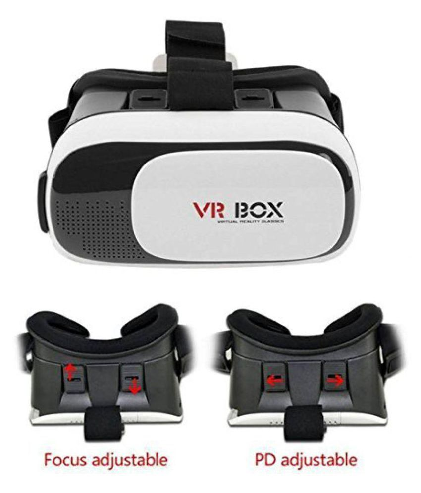 Cospex VR Box - Virtual Reality Headset & Bluetooth Controller Vr