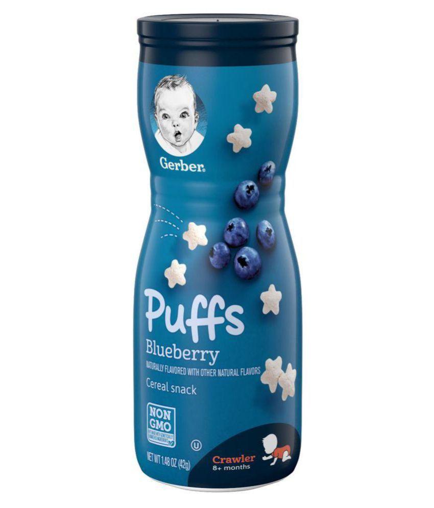 Gerber Blueberry Snack Foods for 6 Months + ( 42 gm )