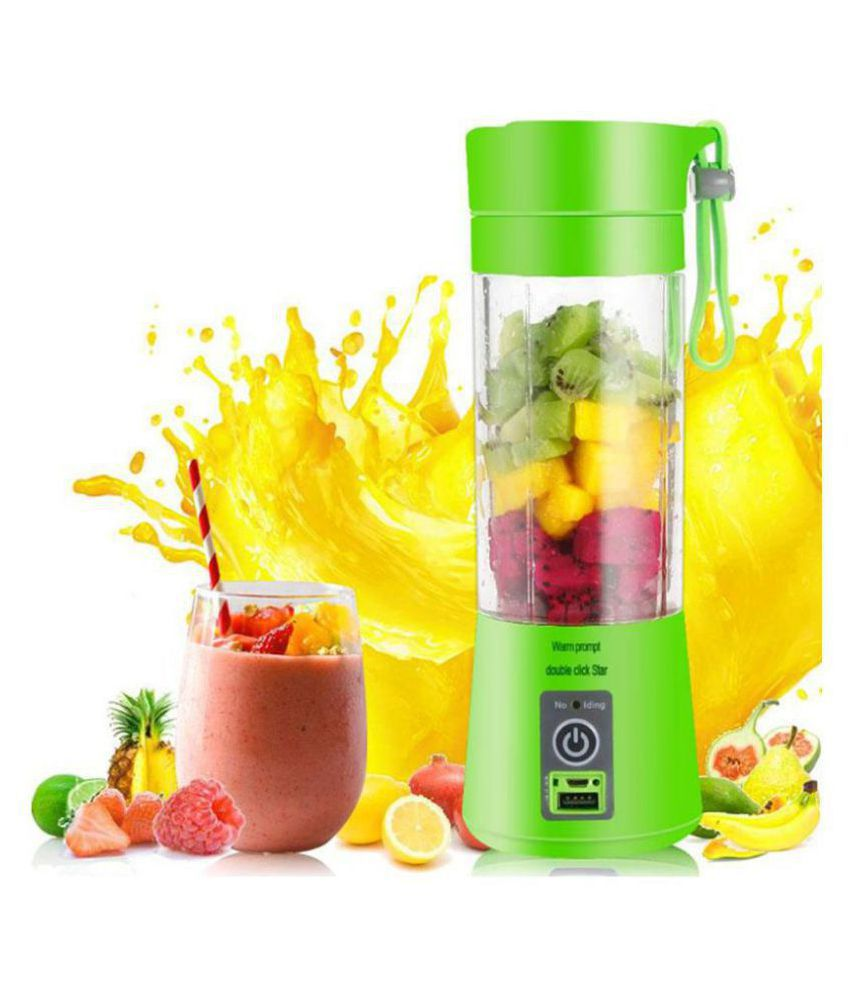 Mobile Addaa USB Electric Fruit & Vegetable Juicer / Bottle Blender / Manual Juicer / Power Bank