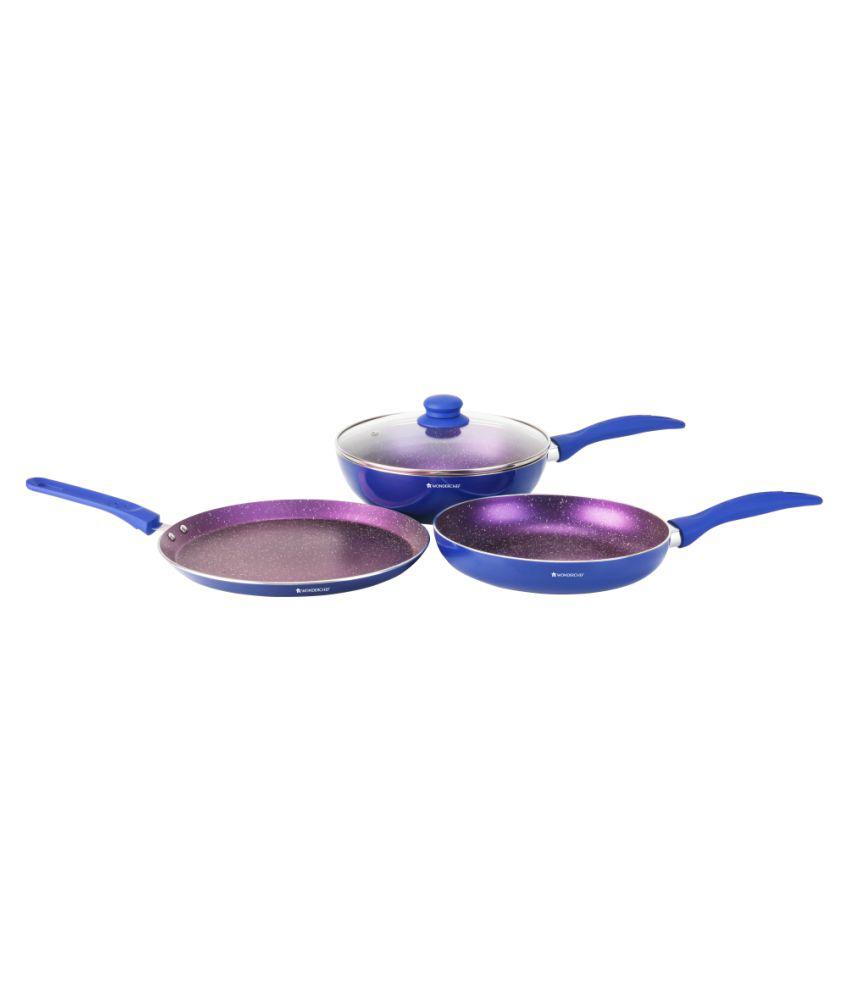 Wonderchef Blueberry – 1H 4 Piece Cookware Set