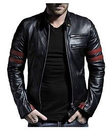 Teesort Black Biker Jacket