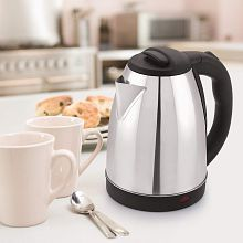 BMS Lifestyle Electric Kettle 2 Liters 1500 Watts Stainless Steel Electric Kettle