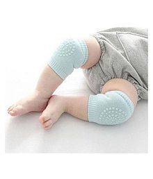 TRYOKART Blue Coton Baby Knee Pad 2 pcs